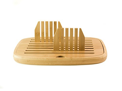 Bread Slicer - Bread Cutter - Foldable Bread Slicer | Bamboo Wood | Easy Storage by Sofia's Findings (Image #1)