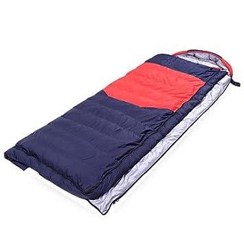 zyt Saco de dormir rectangular saco de dormir Cama individual (150 x 200 cm) de 5 plumas 210 x 80, rojo: Amazon.es: Deportes y aire libre