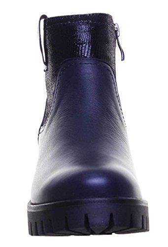 Femme pour Bleu Bottes Reece Justin Marine 4700 qwzU8fxng