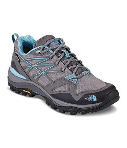 The North Face Women's Hedgehog Fastpack Gore-TEX Hiking Shoe Grey/Fortuna Blue Size 8 M US