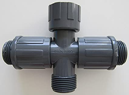 PVC-Verschraubung//Verteiler Rain Bird für Magnetventile 4-fach Verteiler 1 Innengewinde x 1 Außengewinde; 4 Auslässe 1 Innengewinde