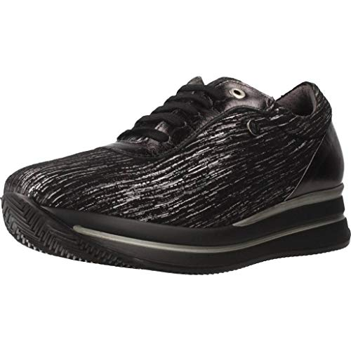 Color Negro Marca Pitillos Modelo Calzado Pitillos Para 5352p Negro Mujer Deportivo Mujer qIItSp