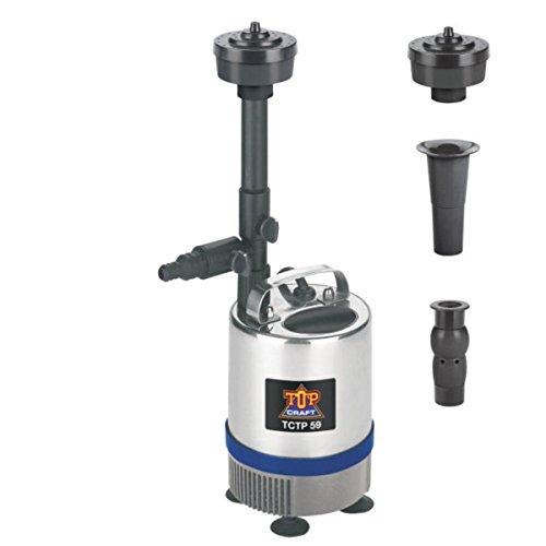 TopCraft®Springbrunnenpumpe Teichpumpe Pumpe TopCraft TCTP 59 Neu