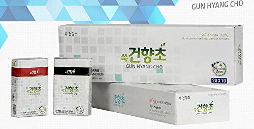 2016 New  Natural Herbal Cigarette 1 Carton  10 Packs  200Sticks   Natural Artemisia 100   No Tobacco  No Nicotine And No Chemicals For Health