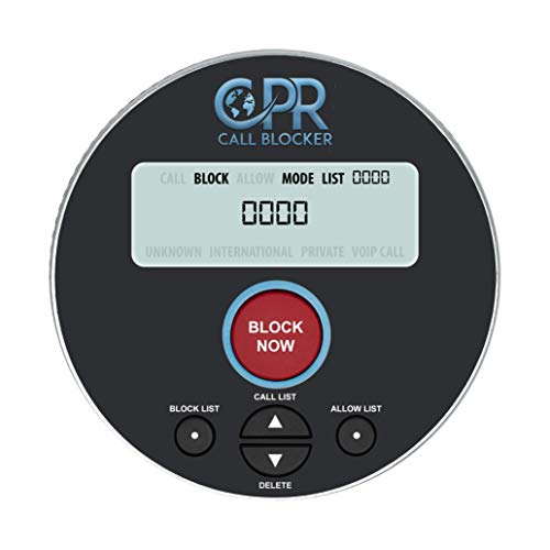 CPR V10000 Call Blocker for Landline Phones. Dual Mode Protection.