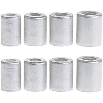 Amazon com: VIGORWORK 100pcs Aluminum Crimp Ferrule for Auto