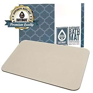 Diatomat diatomite stone bath shower mat non slip mat - Non slip bathroom flooring elderly ...
