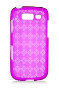 HHI Samsung SGH-T769 Galaxy S Blaze 4G TPU Rubber Skin Case with Inner Check Design - Hot Pink (Package include a HandHelditems Sketch Stylus Pen)