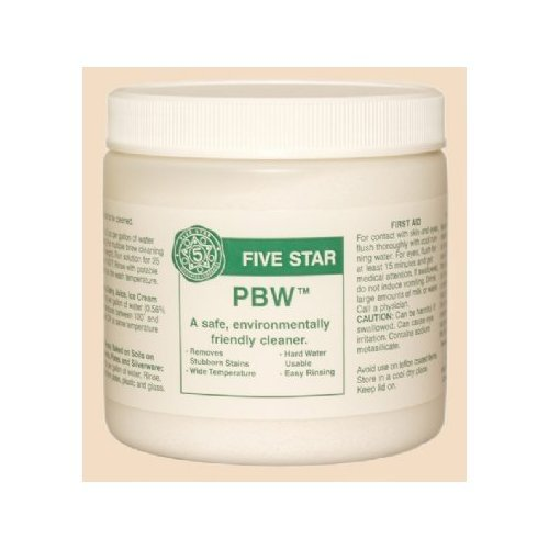 5 X PBW by Five Star- 1 lb by Simi Valley Home Brew