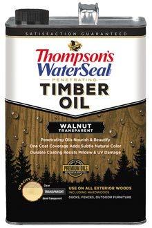 (Thompsons Timber Oil - Walnut Transparent - 1 Gallon)