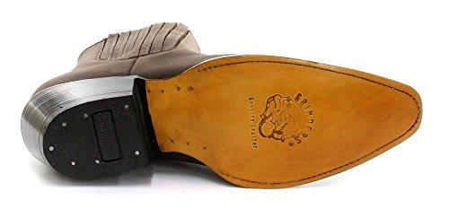 Schleifmaschinen Cowboystiefel Herren Brown Maverick New Western Stiefelette Echtleder 66qr0wd