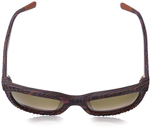 Missoni - Lunette de soleil MI814S Œil de chat  - Femme Purple-brown frame/gradient brown lnes