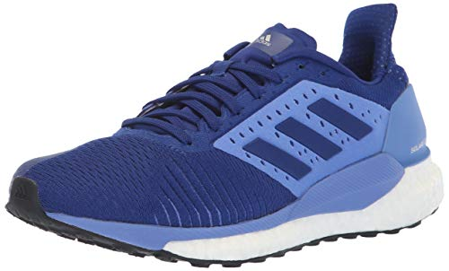 adidas Women's Solar Glide ST Running Shoe, Mystery Ink/Mystery Ink/Real Lilac, 9.5 M US