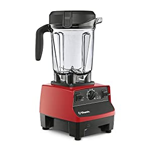 Vitamix 5300 Low-Profile Blender, Professional-Grade, Self-Cleaning 64 oz. Container, Red (Certified Refurbished)