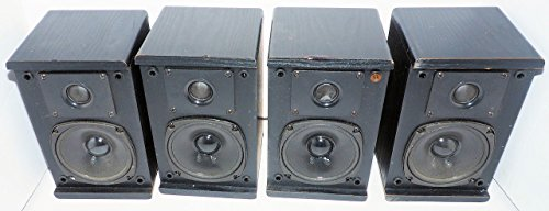 KLH SURROUND SOUND SPEAKERS 4 Piece, 2 Way - 2 Front + 2 Rea