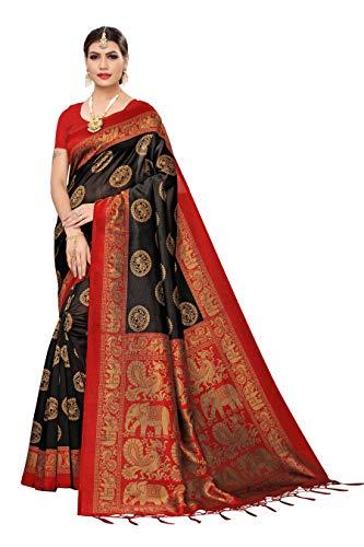 41DbrRWprLL Anni Designer Women's Art Silk Saree With Blouse
