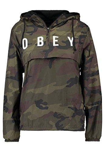Obey - Veste de sport - Femme Multicolore camouflage