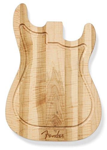 Fender Strat Cutting Board - Figured Maple (Strat Cutting Board)