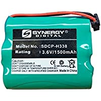 Uniden BT-1006 Cordless Phone Battery Ni-MH, 3.6 Volt, 1500 mAh - Ultra Hi-Capacity - Replacement for Panasonic HHR-P505 Rechargeable Battery