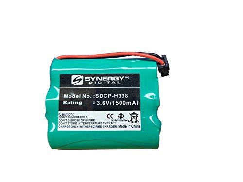 Energizer ER-P730 Cordless Phone Battery Ni-MH, 3.6 Volt, 1500 mAh - Ultra Hi-Capacity - Replacement for Panasonic HHR-P505 Rechargeable Battery ()