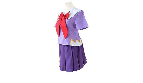 El diario de futuro Gasai Yuno Mirai Nikki Top & falda traje de ...