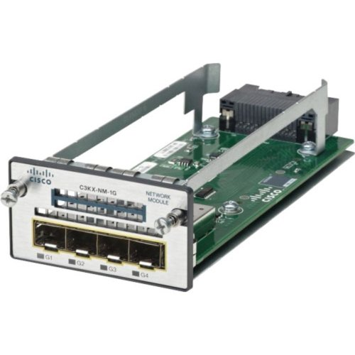 (Cisco C3KX-NM-1G Network Module for 3560X & 3750X Switches)