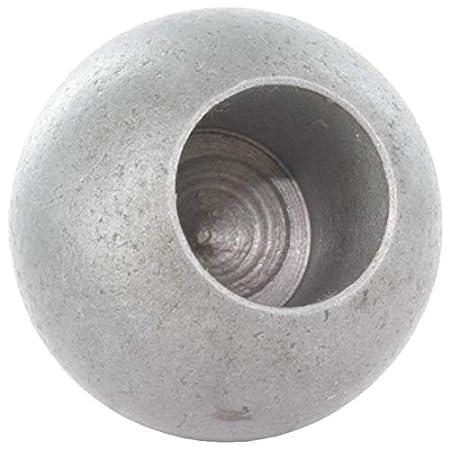 roh massiv glatt Fenau Kugel /Ø 25 mm mit Gewinde M6 Stahl S235JR