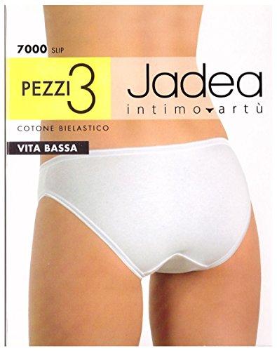 jadea Juego de 3elástico Slip cintura baja negro