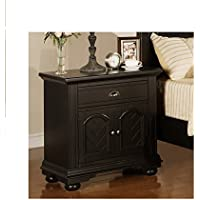 Picket House Furnishings Brook 1 Drawer 2-Door Nightstand -