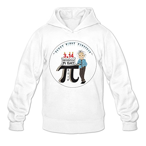 MARY Men's March 14 Pi Day Once In A Century Sweatshirt (Howard Stern Costume)