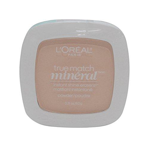 2 Pack- L'Oreal True Match Mineral Instant Shine Eraser Powder #N1-2/402 Soft Ivory