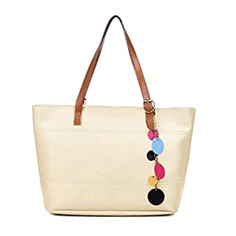 9ad47480f9af Amazon.com  Eshion Lady Women PU Leather Handbag Shoulder Bag Tote Purse  Messenger Bags Hobo ESY1  Clothing