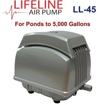 LL-45 Lifeline Air Pump 1.85 cubic feet per minute, 35 Watts