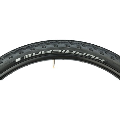 Schwalbe Hurricane HS 352 Mountain Bicycle Tire - Wire Bead (Black - 29 x 2.0) ()