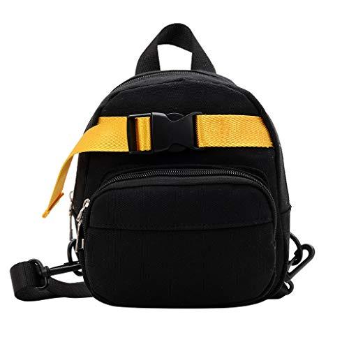 (SUNyongsh Children School Bags Kids Boys Girls Toddler Canvas Shoulder Backpack School Students Bags)
