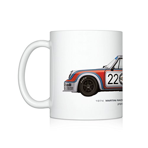 (GarageProject101 1974 Martini Racing (Le Mans 24 Hours) illustration Coffee Mug)