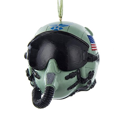 "Kurt Adler 3.25"" U.S. Air Force Pilot Helmet"