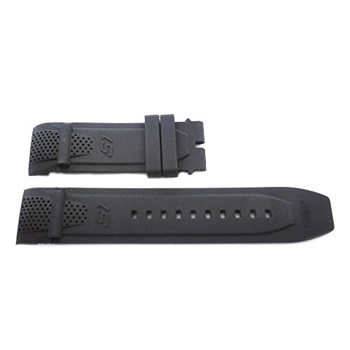 Replacement Generic Black 26mm Watch Strap for Invicta S1 Rally Collection
