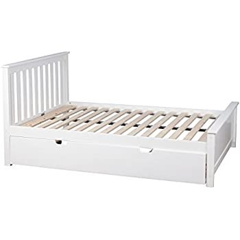 full size captains bed with trundle and storage this item max lily solid wood white sets captain twin 3 drawers
