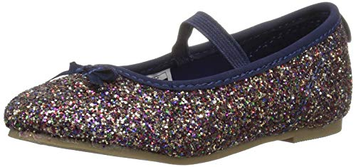 carter's baby-girls' Ali Ballet Flat, Multi, 7 M US Toddler