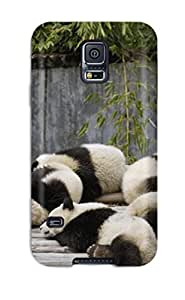 Unique Design Galaxy S5 Durable Tpu Case Cover Panda Bears