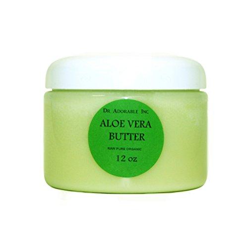 Aloe Vera Butter Pure Organic by Dr. Adorable 12 Oz