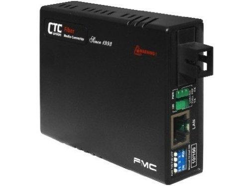 Fast Single Strand - FMC-10-100-SC20B Fast Ethernet WDM single strand fiber media converter, 20Km B type