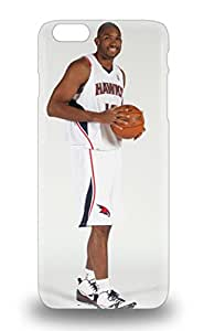 Special Design Back NBA Atlanta Hawks Al Horford #15 Phone Case Cover For Iphone 6 Plus 3D PC Soft Case