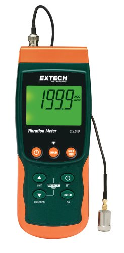 Extech SDL800 Vibration Meter and Datalogger by Extech
