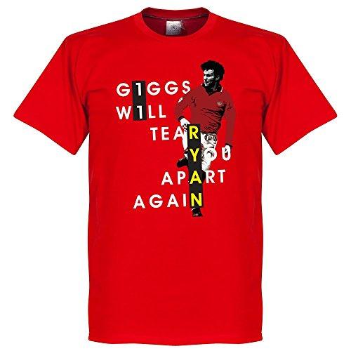 Giggs You Will Tear Apart-Maglietta, colore: rosso