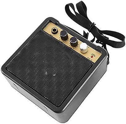 Ballylelly mini amplificador de guitarra, E-WAVE Mini eléctrico E-WAVE amplificador de guitarra con el altavoz Accesorios para guitarra