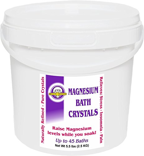 MAGNESIUM BATH CRYSTALS 5.5# UP TO 50 BATHS