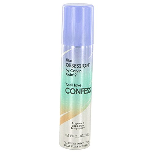Coeur De Parfum (Parfums De Coeur Confess Fragrance Deodorant Body Spray 2.5 Fl )
