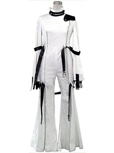 [Cosplaygalaxy Code Geass C.C. White Cosplay Costume] (Cc Code Geass Costumes)